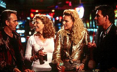 Billy Bob Thornton , Natasha Richardson , Charlize Theron and Patrick Swayze in  Miramax's Waking Up In Reno