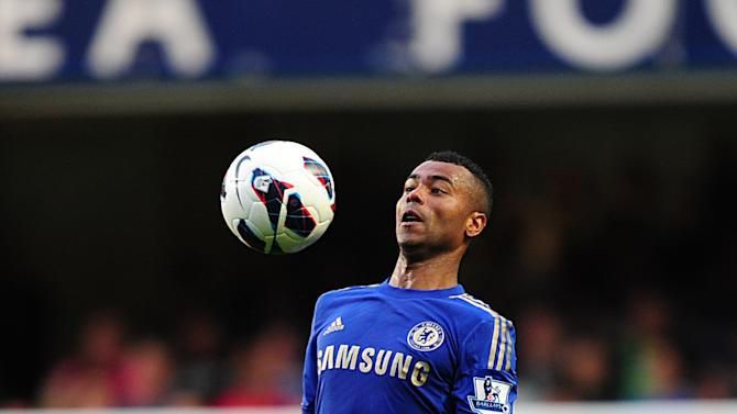 Ashley Cole picked up a hamstring injury during Saturday's clash against Swansea