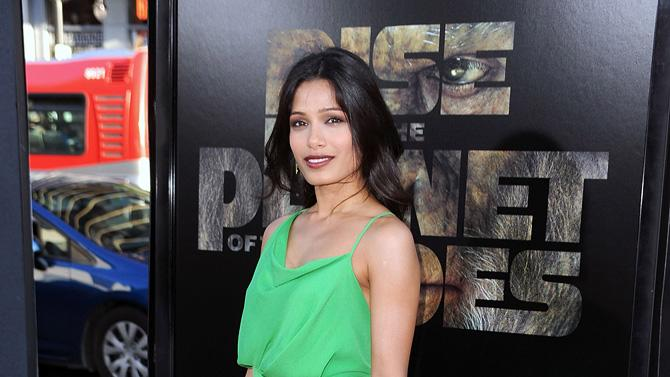 Rise of the Planet of the Apes 2011 LA Premiere Freida Pinto