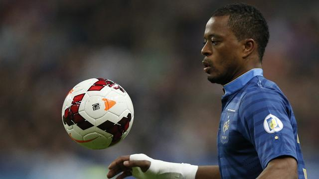 World Cup - France coach Deschamps picks Evra for Ukraine play-off