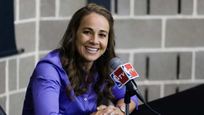 Spurs assistant Becky Hammon stars in TV ad to air during NBA All-Star Game