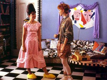 Annie Potts and Molly Ringwald in Paramount Pictures' Pretty in Pink