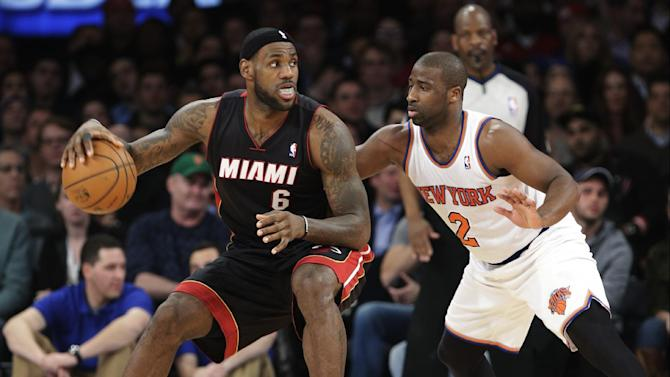 Knicks beat Heat 102-92, win third straight game