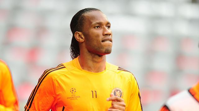 Football - Gala confirm Drogba talks