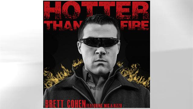 Fake Celebrity Brett Cohen Is Back With New Music Video 'Hotter Than Fire'