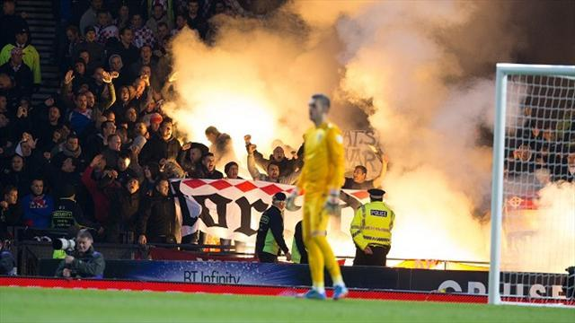World Cup - SFA in trouble over Croatian fans' flare