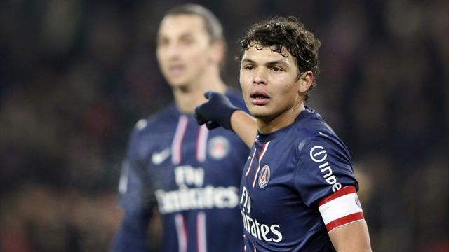 Champions League - Thiago Silva, Alex included in PSG squad for Barca