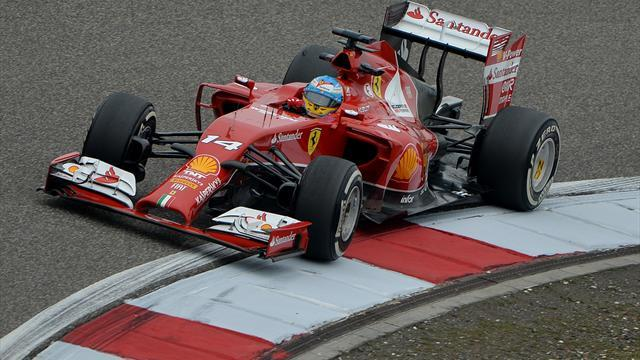 Formula 1 - Alonso breaks Mercedes stranglehold in China practice