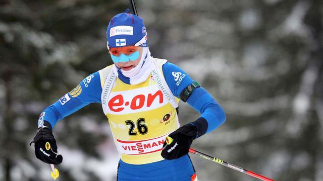 Biathlon - Makarainen shoots to home gold