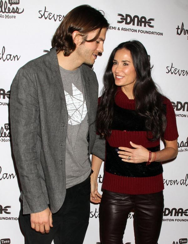Demi Moore's Miscarriage Drove Ashton Kutcher To Cheat — Report