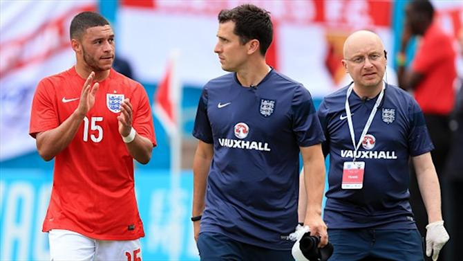World Cup - Hodgson upbeat over Ox injury