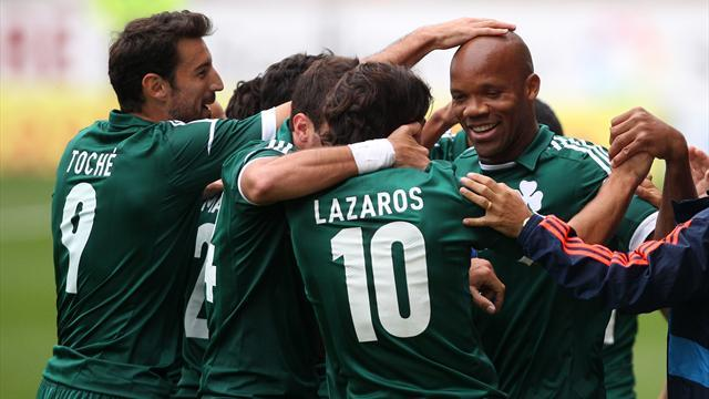 World Football - Panathinaikos take Athens derby honours with win over AEK