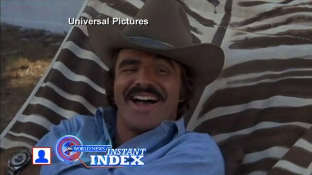 Instant Index: Burt Reynolds Sent to Hospital With Flu