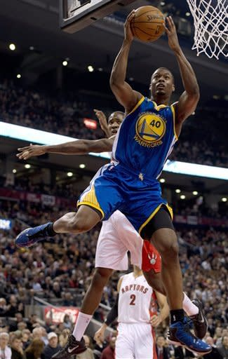 Lee scores 21 as Warriors beat Raptors 114-102