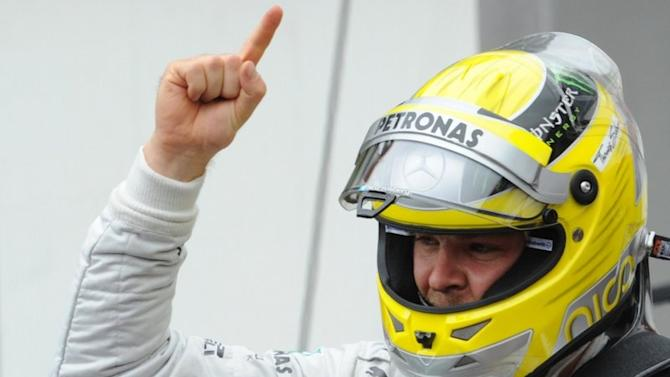 Race: Rosberg Wins Crash-Strewn Monaco GP