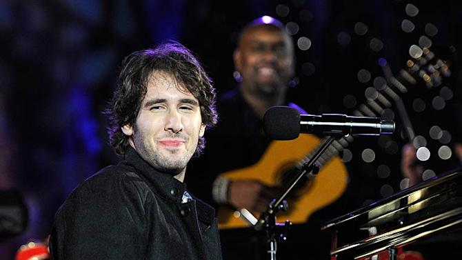 Josh Groban Rockfeller Center