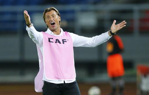 Ivory Coast coach Herve Renard reacts during the final of the 2015 African Cup of Nations soccer tournament against Ghana in Bata