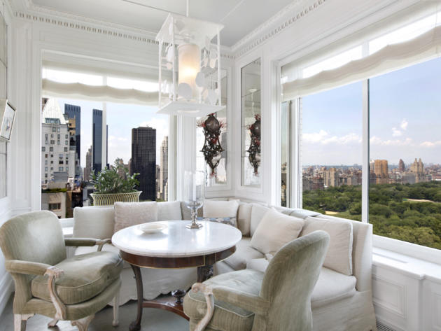 $50 million two-bedroom apartment at Central Park Ritz-Carlton corner windows