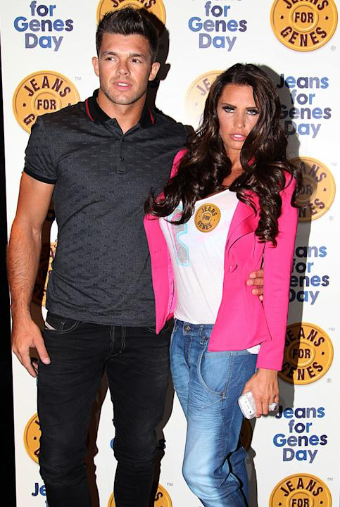 Celebrity splits 2012: Katie Price and Leandro Penna were engaged at the start of the year, but as 2012 drew to a close, the pair decided to split up. Katie maintained that the pair were still very &#