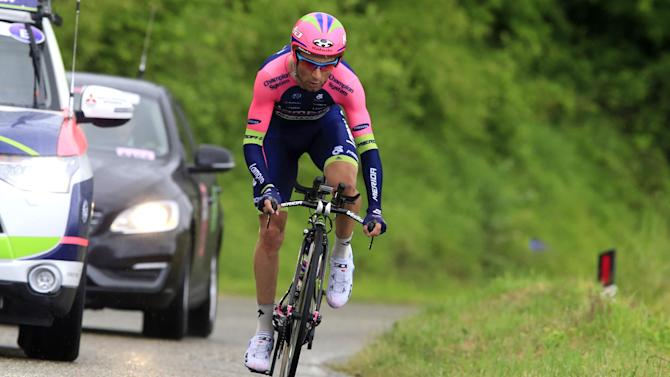Cycling - Ulissi suspended again after positive Giro test