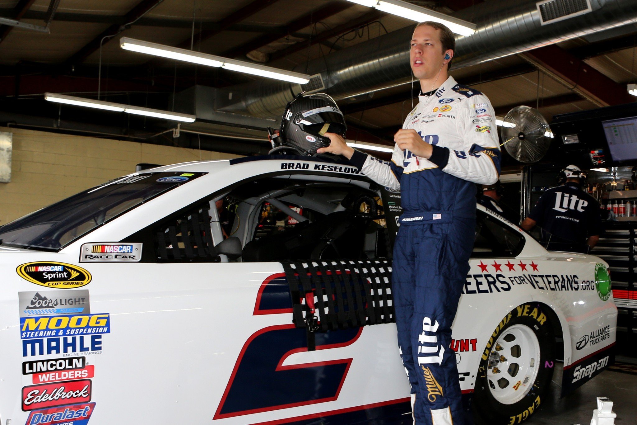 Brad Keselowski, Team Penske penalized after failing MI inspection