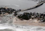 Damage created by superstorm Sandy in New Jersey in October. The planet has witnessed record-breaking temperatures in the past decade and frequent natural disasters that some blame on climate change -- recently superstorm Sandy which ravaged Haiti and the US east coast