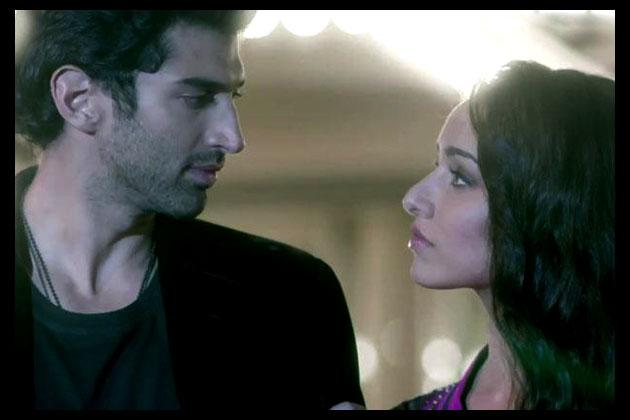 Aditya and Shraddha in 'Aashiqui 2'