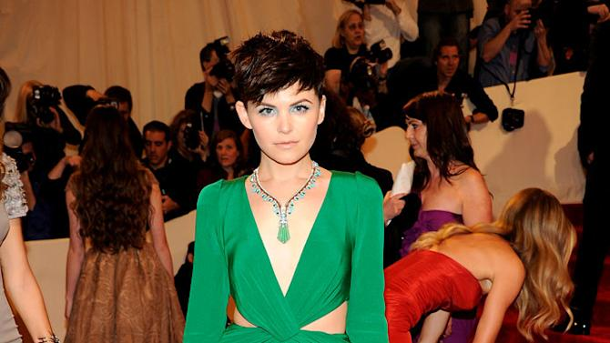"""Ginnifer Goodwin attends the """"Alexander McQueen: Savage Beauty"""" Costume Institute Gala at The Metropolitan Museum of Art on May 2, 2011 in New York City."""