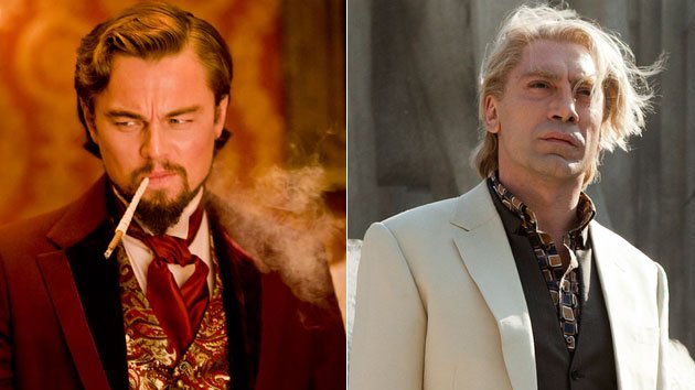 Leonardo DiCaprio, Javier Bardem