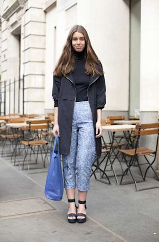 Style Hunter: Blue-tiful Trousers!