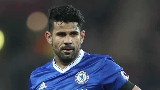 Antonio Conte says Diego Costa is 'very happy' at Chelsea and is available to face Hull City