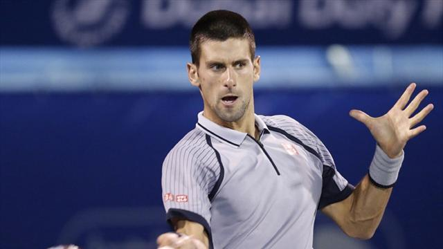 Tennis - Djokovic thrashes Troicki in Dubai
