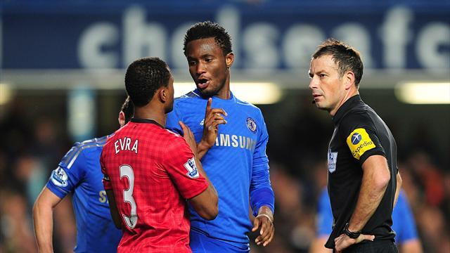 Premier League - Chelsea's Mikel banned and fined over referee incident