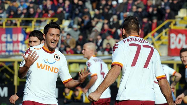 Serie A - Roma held in six-goal draw