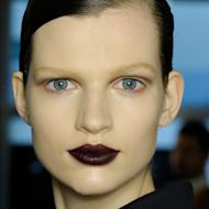 Deep red lipstick in varying berry hues; one of autumn's trickier trends but once mastered, you'll revel in its complexion perfecting powers. Lifting tired skin, allowing for minimal make-up and adding a luxuriant element to winter's faux furs and brocades, from dark red lipstick to berry tones, red lip lacquer and a rouge noir lip crayon, our favourite dark red lipsticks prove that matte red lips and dark berry lipstickare wearable when you know how