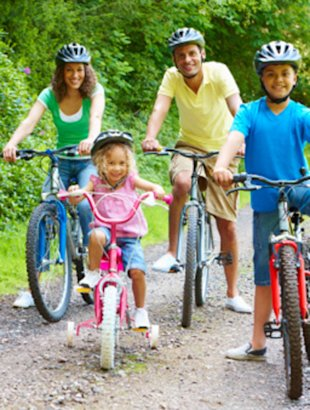 Spend time with your family to celebrate Family Health and Fitness Day.