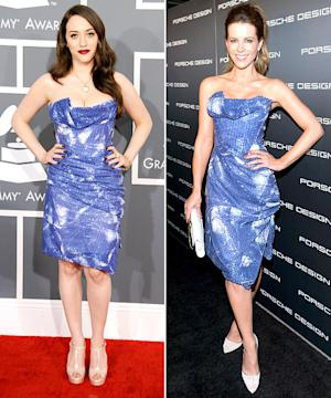 Who Wore It Best: Kat Dennings vs. Kate Beckinsale?