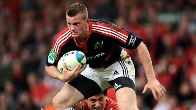 RaboDirect Pro12 - Munster fight back to deny Zebre