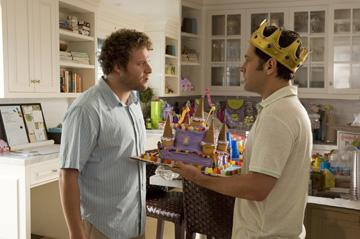 Seth Rogen and Paul Rudd in Universal Pictures' Knocked Up
