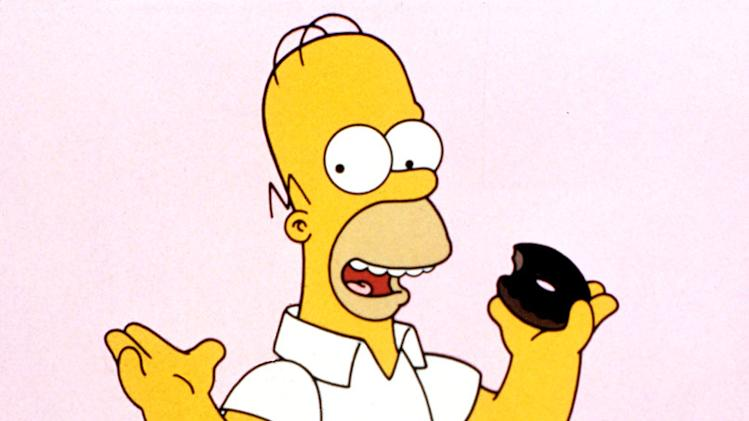 Homer Simpson (voiced by Dan Castellaneta) stars in The Simpsons on FOX.