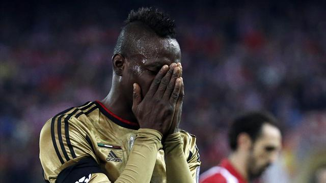 Serie A - Seedorf 'drops Balotelli after Champions League elimination'