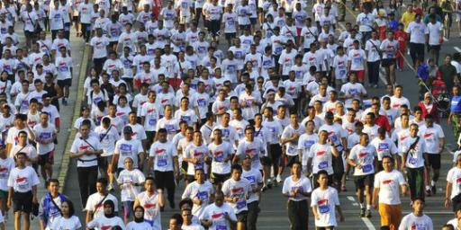 Ada Independence Day Run, 9 ruas jalan akan ditutup