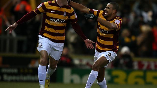 Football - Bantams humiliate Gunners