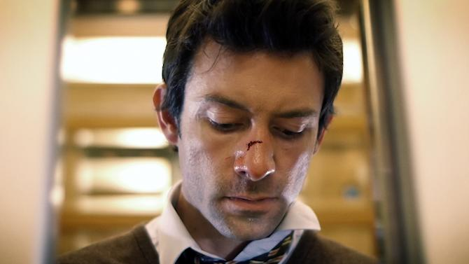 "This film image released by ERBP Films shows Shane Carruth in a scene from ""Upstream Color."" (AP Photo/ERBP Films)"