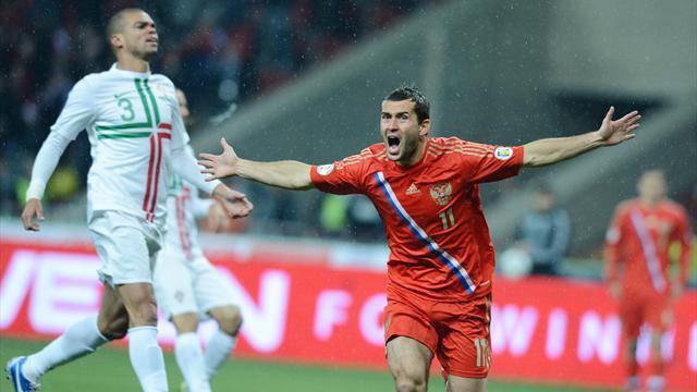 Russia edge out Portugal