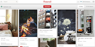 5 Reasons Why Starbucks' Pinterest Strategy is Not A Big Hit image Interior Design Board