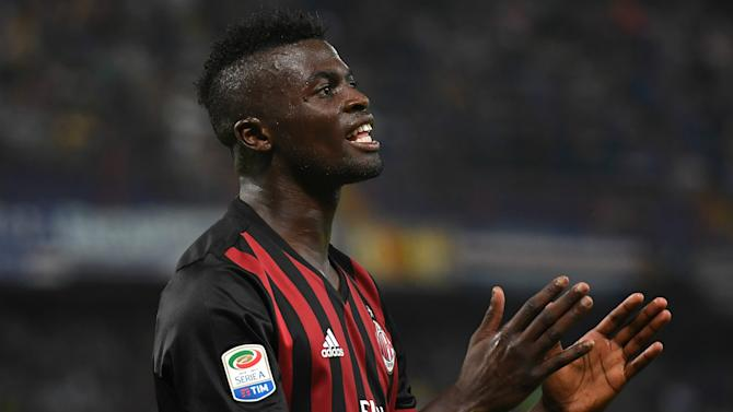 Niang in talks over AC Milan exit, confirms Montella