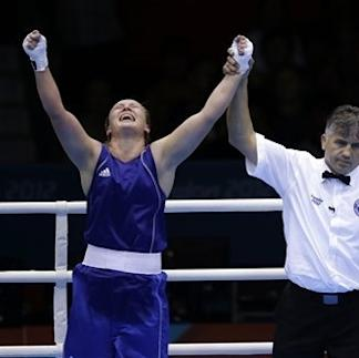 Katie Taylor, 2 US women clinch boxing medals The Associated Press Getty Images