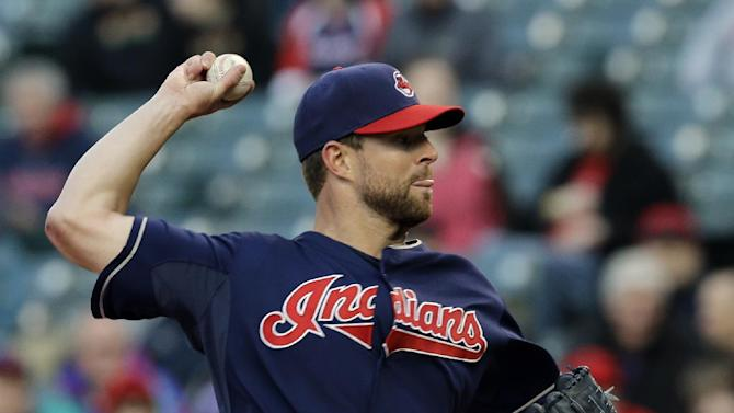 Murphy drives in 4, Indians beat Padres 8-6
