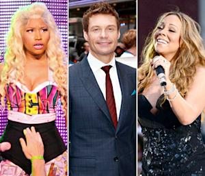 "Ryan Seacrest Explains ""Intense"" Nicki Minaj, Mariah Carey Fight"